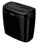 Шредер Fellowes® Powershred® 36C, DIN P-4, 4х40 мм, 6 лст., 12 лтр., Safety Lock